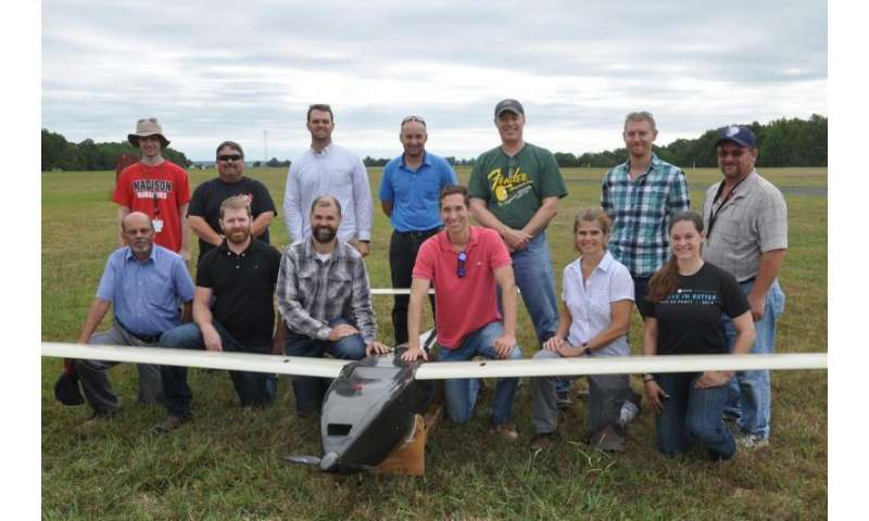 NRL completes first flight of UAV with custom hydrogen fuel cell