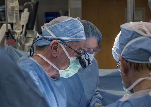 Penis operation highlights past, future of organ transplants