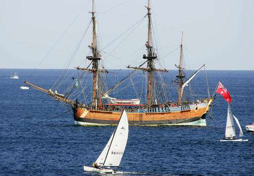 Remains of Captain Cook's ship likely off Rhode Island coast