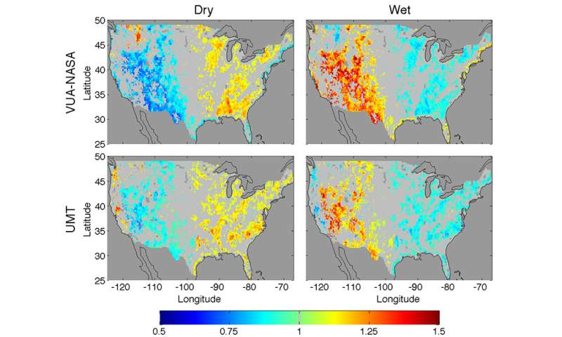 Research connects soil moisture to next-day rainfall