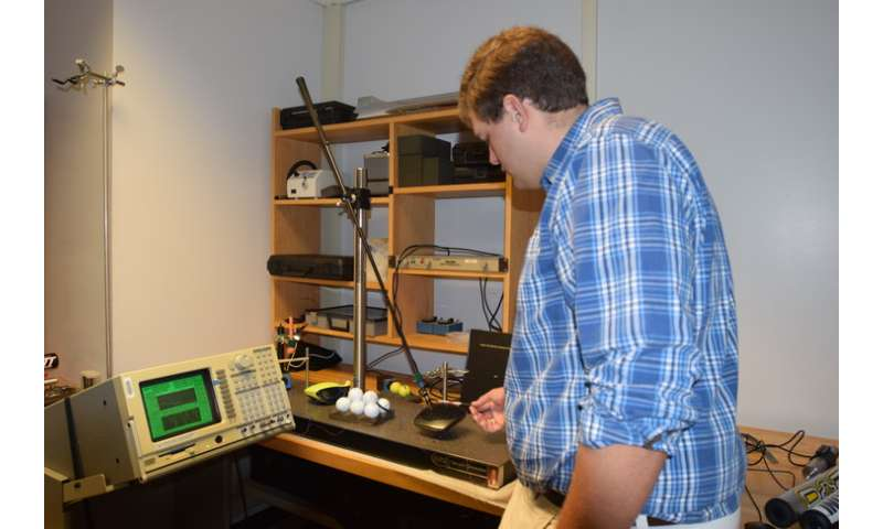 Researcher analyzes acoustic properties of golf club drivers