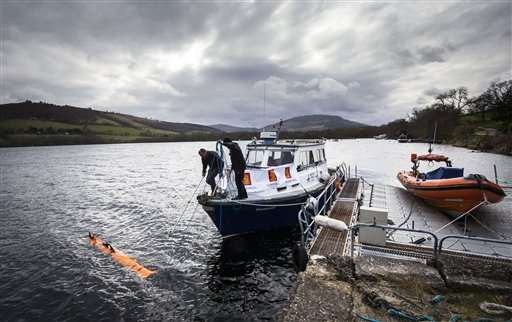 Robot finds 'monster' in Loch Ness -- but it's a movie prop