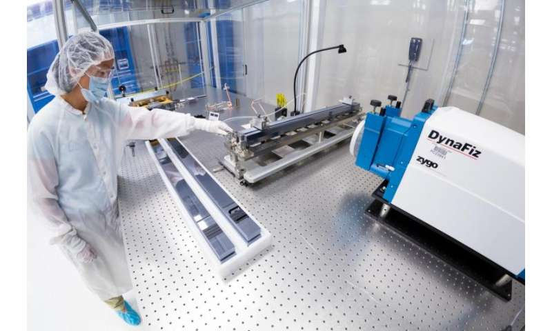 SLAC receives new mirrors for X-ray laser