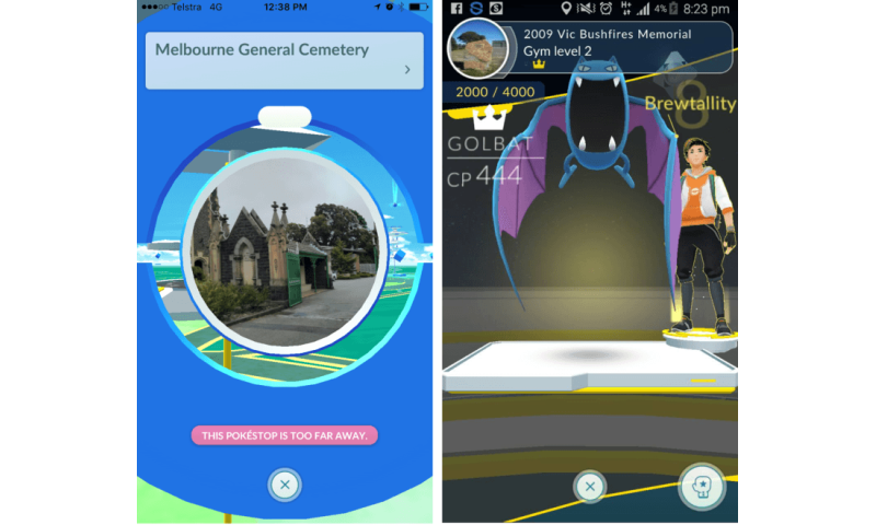 Some places should be off limits for games such as Pokémon GO