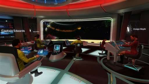 Star Trek' actors take series' first VR game for a spin