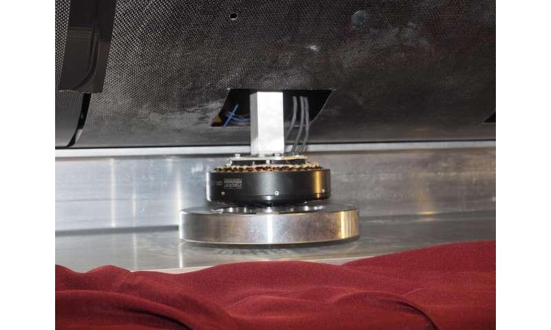 Student-designed Hyperloop pod demonstrates magnetic levitation