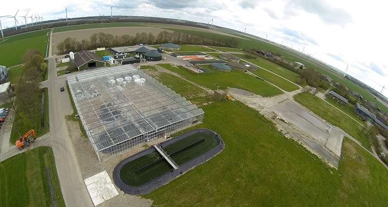 Successful biobased pilot installations in Lelystad fully operational for businesses