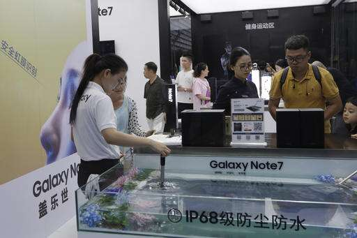 Tests after explosion claims slow Galaxy Note 7 deliveries (Update)