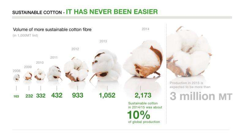 Top brands failing on cotton sustainability