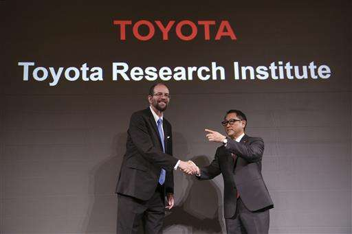 Toyota's US robotics boss promises results within 5 years