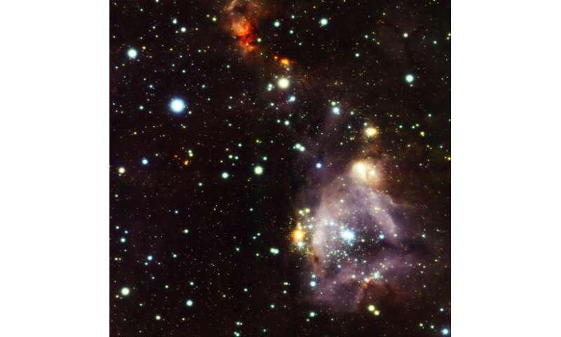 Ultra-sharp image uncovers the shocking lives of young stars