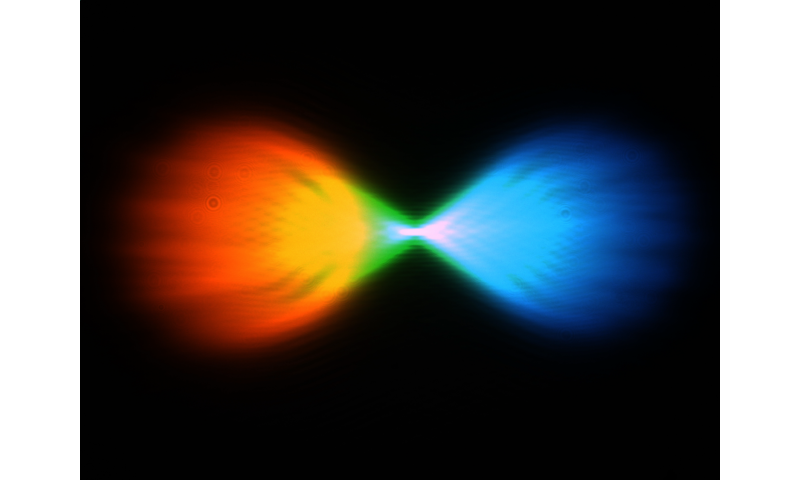 Ultrathin, flat lens resolves chirality and color