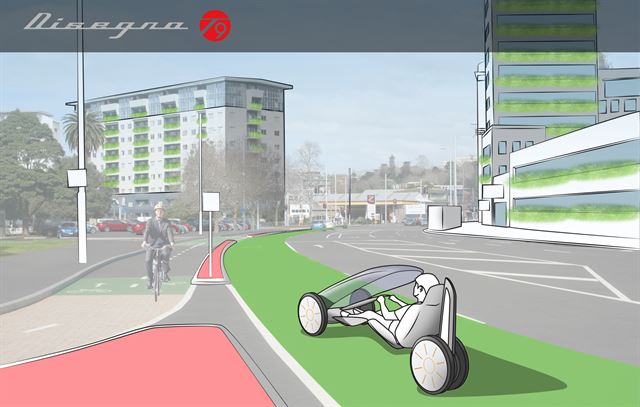 UNIST introduces the world to the smart urban vehicle concept