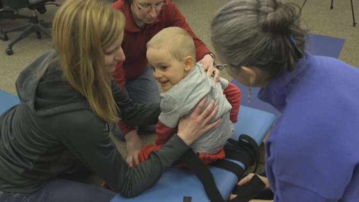 Video: Physical therapy research improves the lives of children with cerebral palsy