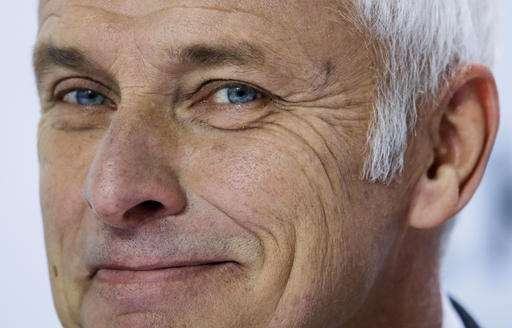 Volkswagen CEO apologized in person to Obama over scandal