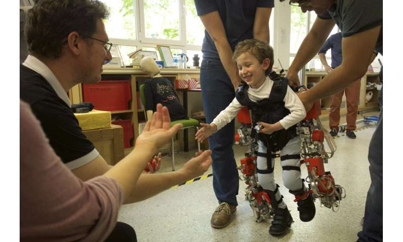 World's first child-exoskeleton for spinal muscular atrophy