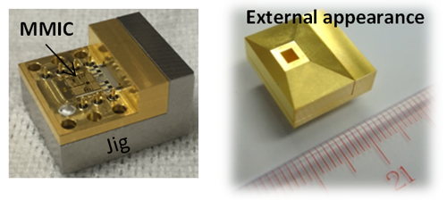World's-first compact transceiver for terahertz wireless communication using 300-GHz band