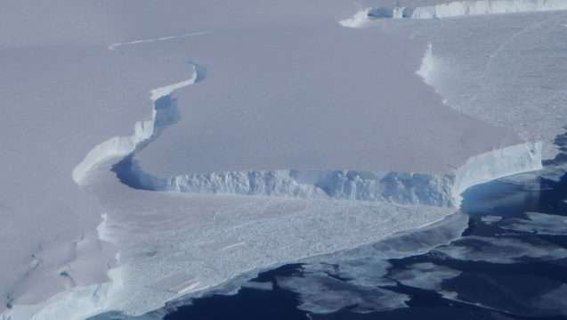 Year by year, line by line, researchers build an image of Getz Ice Shelf