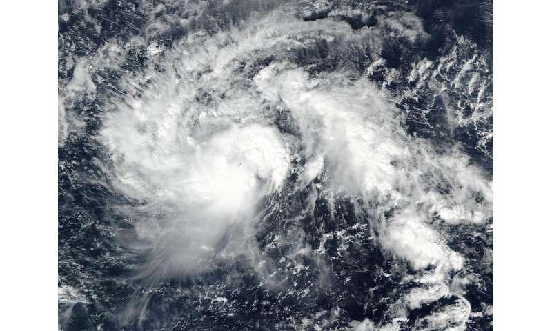 NASA spots Tropical Storm Nock-ten intensify