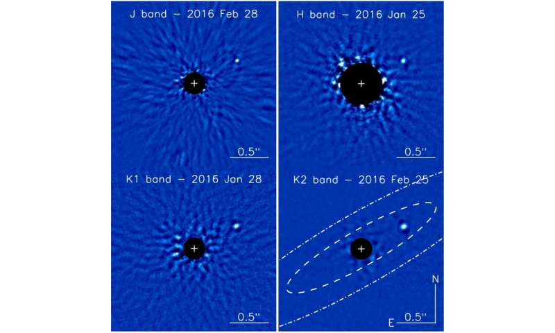 Astronomers find a brown dwarf companion to a nearby debris disk host star