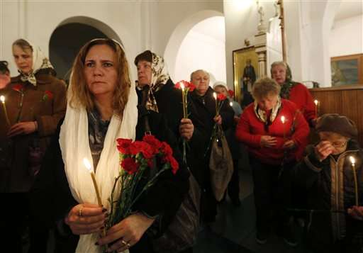 Etched in their mind: Ukraine marks 30 years since Chernobyl