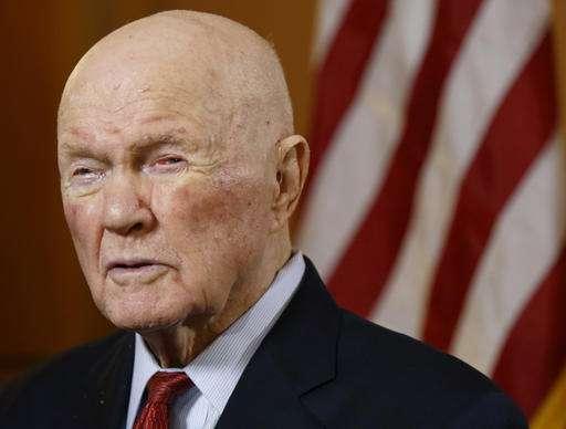 John Glenn, the 1st American to orbit Earth, has died at 95