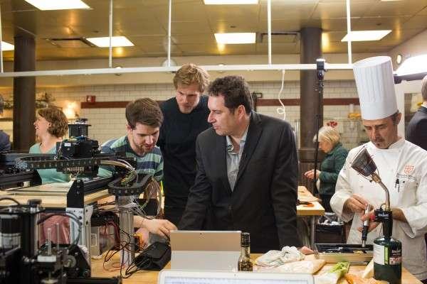 Researchers develop 3-D food printer