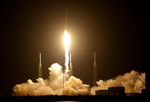 SpaceX launches space station docking port for NASA