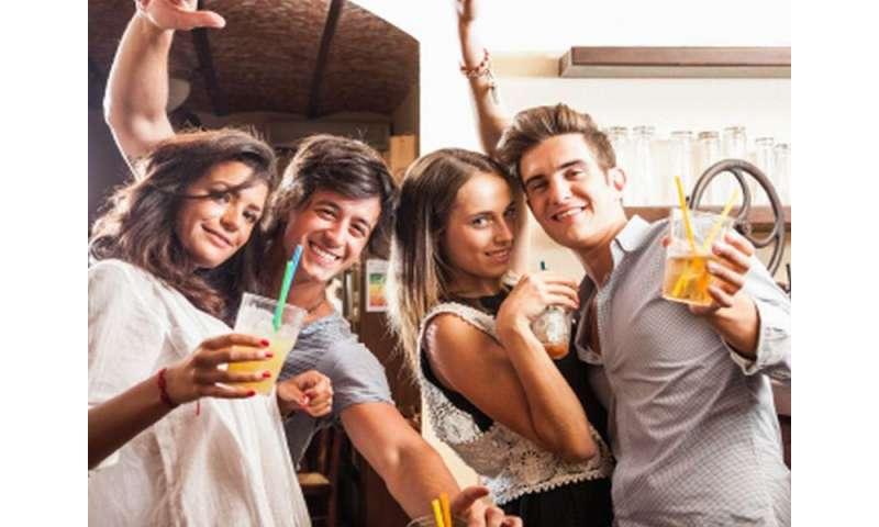 1.2 million U.S. college students boozing on average day
