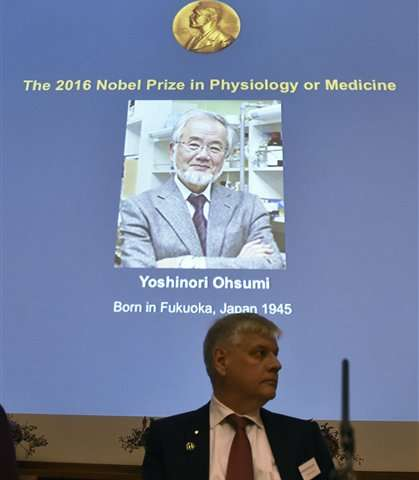 Nobel Prize for Japanese who unraveled cell recycling system