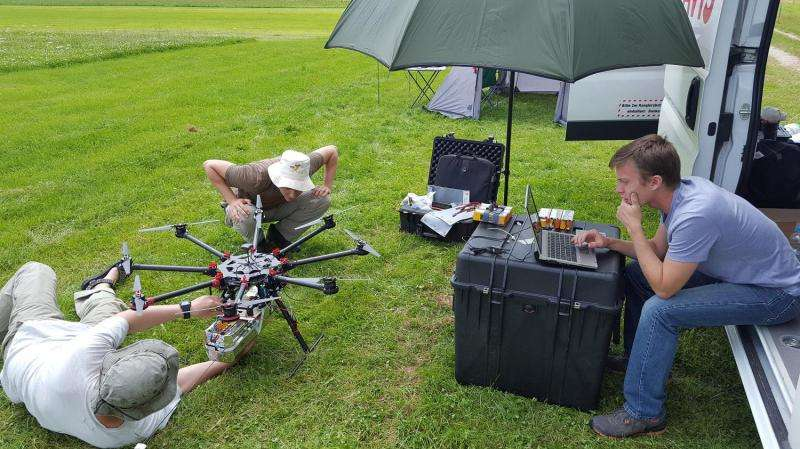 Researchers explore new uses for unmanned aerial vehicles in meteorological research