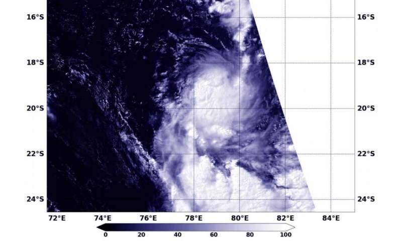 NASA sees Tropical Cyclone 17S form
