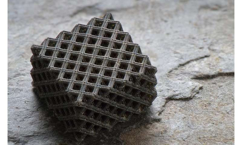 Scientists develop way to upsize nanostructures into light, flexible 3-D printed materials