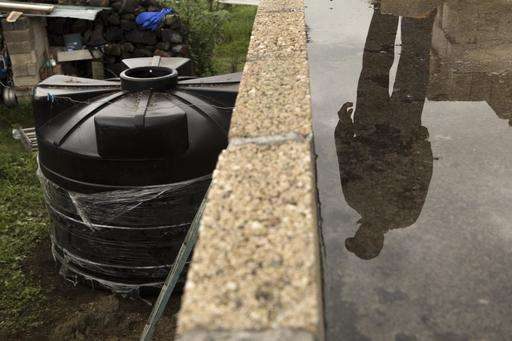 Some Mexico City residents see future in rain harvesting
