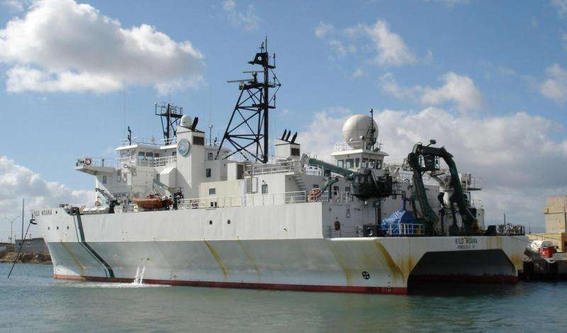 A new way to detect tsunamis—cargo ships