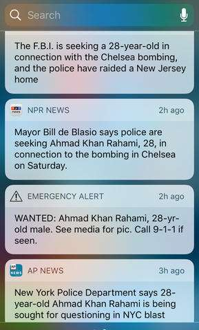 AP Explains: Wireless cellphone alerts on bombing suspect
