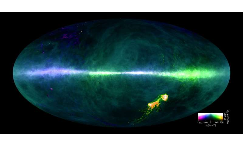 Astrophysicists map the Milky Way