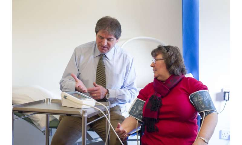Blood pressure difference linked to heart disease risk