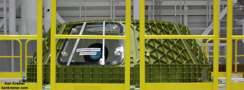 Boeing starts assembly of  first flightworthy Starliner crew taxi vehicle at Kennedy Spaceport