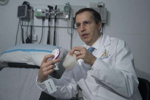 DIY breast reconstruction: Device lets women do part at home