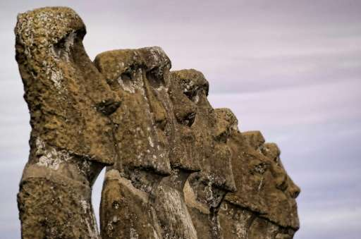 Easter Island, famous for its Moai statues carved by the Rapa Nui people, lies some 3,700 kilometers from the coast of mainland