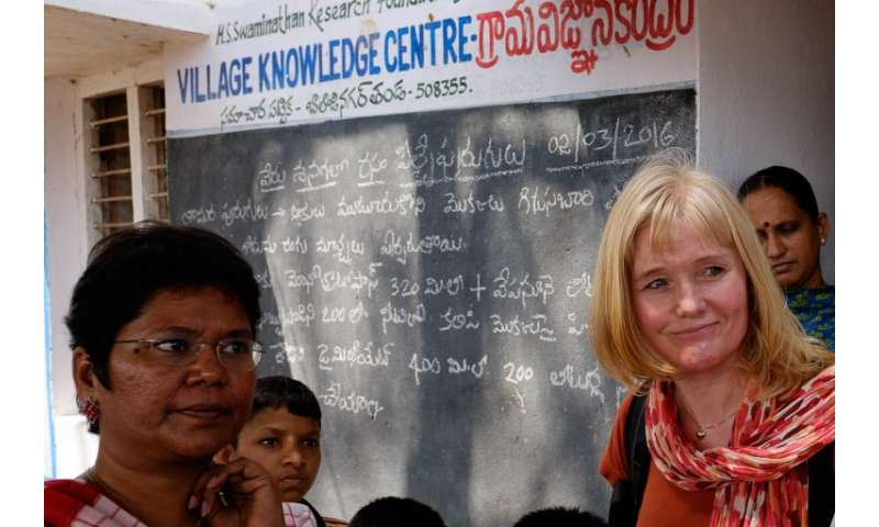 Farmer to farmer learning in India