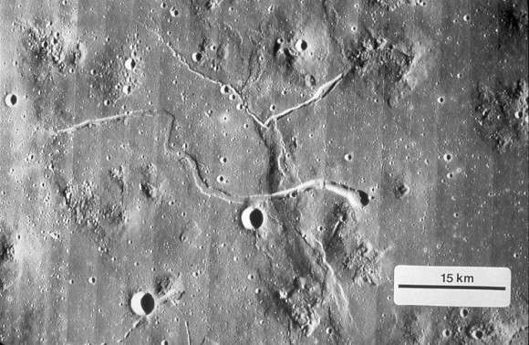 Grail data points to possible lava tubes on the moon