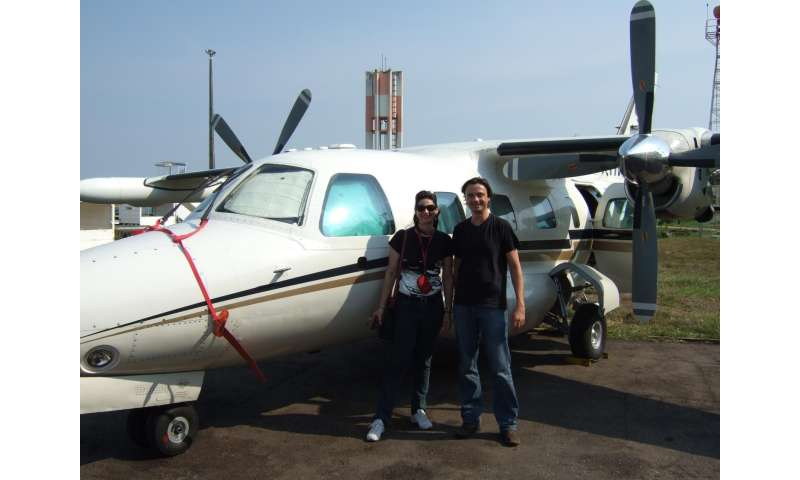 Greenhouse gas-monitoring aircraft keep tabs on the Amazon's rising methane levels