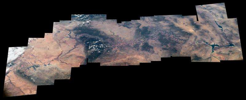 Image: Space station view of Grand Canyon National Park