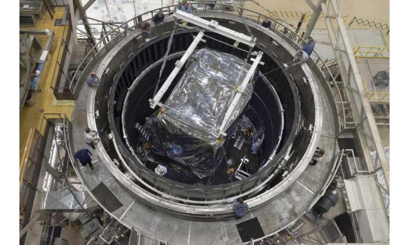 Lockheed Martin readies one of the most sensitive IR instruments ever made for NASA telescope