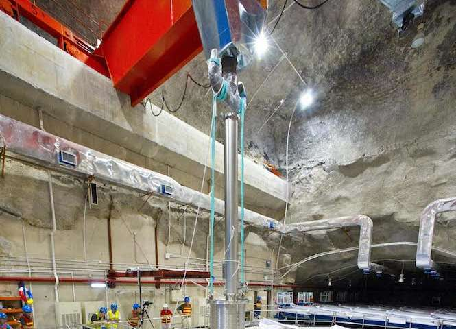 Most precise measurement of energy range for particles produced by nuclear reactors