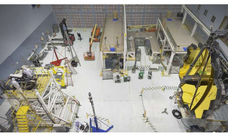 NASA completes Webb Telescope Center of Curvature pre-test