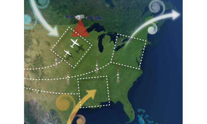 NASA flights to track greenhouse gases across Eastern U.S.