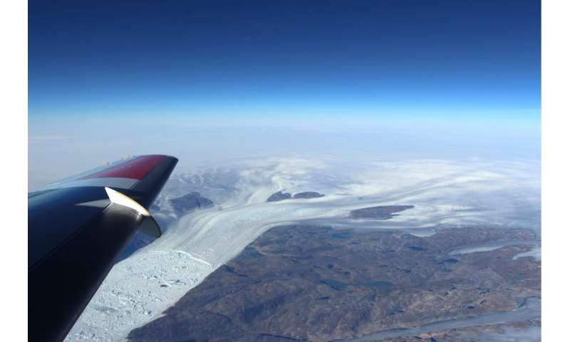 NASA science flights study effect of summer melt on Greenland ice sheet